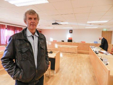 VITNE: Roy Nordbakke mener det er en tragedie å ødelegge Eskevikenskogen med en bilvei til Rødnabbene.