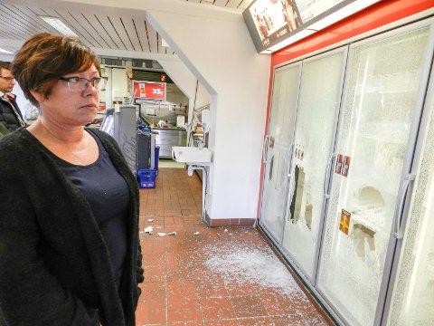 RYDDES IKKE: – Ingenting i lokalet vil være ryddet, sier Marianne Hovland.