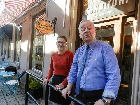 ERLANDSEN: Sverre Stang tok over Norges eldste bakeri for litt under en måned siden. Det angrer han ikke på.
