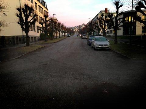 OS: Voldsepisoden skal ha skjedd på gata i Os-området natt til torsdag.