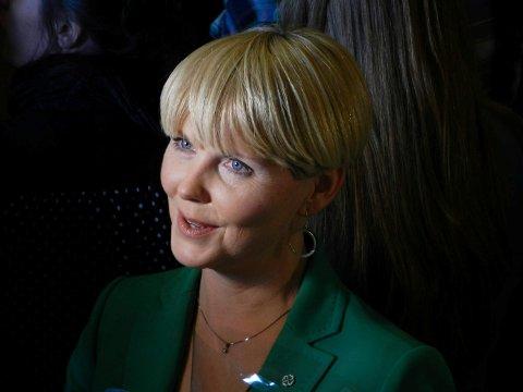 FRAMTIDIG STATSRÅD?: Anne Beathe K. Tvinnereim fra Halden er en aktuell statsrådkandidat hvis Senterparti får mulighet til å være med og danne regjering etter valget til høsten.