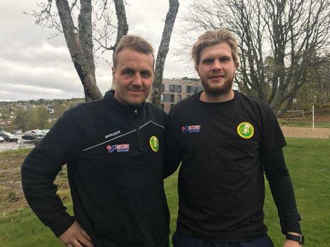 Trener Göran Hermansson er fornøyd med signeringen av Fredrik Løken Pedersen.