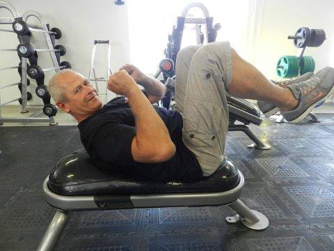 TRENING: - En livsedring må til for å lykkes, sier Jos Appleman i Fitness1.