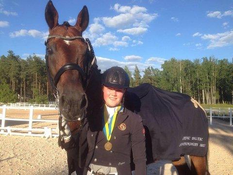 Helena Liholt Gulli og Tobajo Picez gikk helt til topps i Sverige.