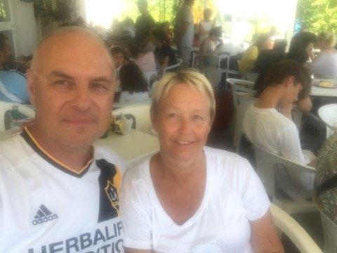 Petter Hernes og Susann Kruse har opplevd jordskjelvet i Kos