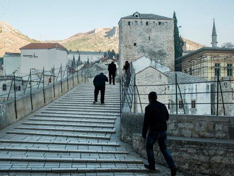 The bridge, Mostar, Bosnia