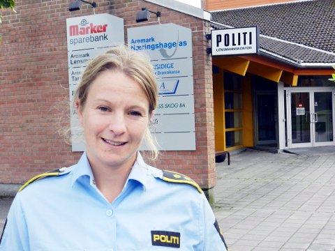 FØLER SOM EN TRUSSEL: Namsmann Monica Anstensen må selv møte i forliksrådet. Hun tror neppe det vil skje i Aremark forliksråd. Arkiv.