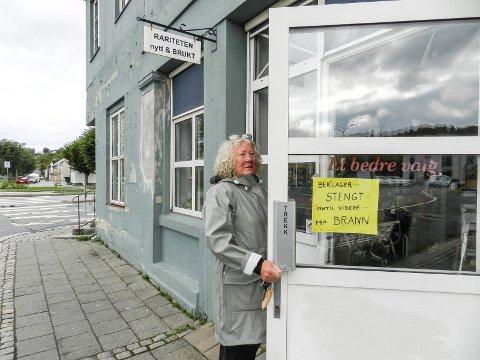 PREGET: – Jeg har mange gode minner med gården, men nå er det også vonde minner, sier Åse Setterquist.