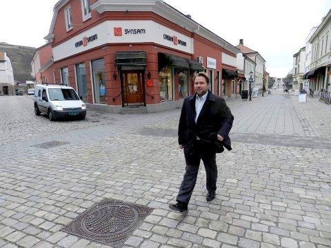Henrik Rød er formann i Halden Fremskrittsparti