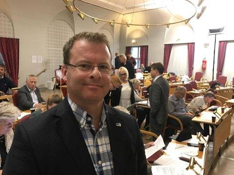 LEDER: Roar Lund er utvalgsleder for undervisning og oppvekst i Halden kommune.
