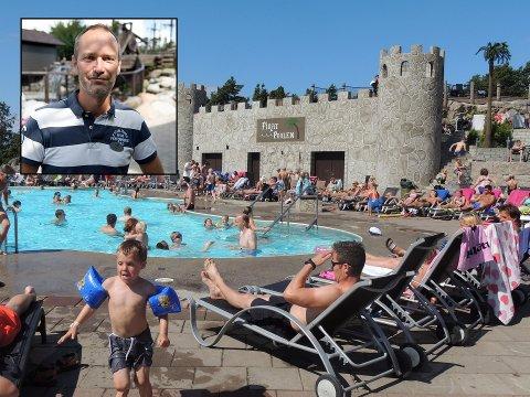REKORDÅR: 2017 ble det hittil beste året for parksjef Peter Steen i Daftöland ved Strömstad. Nå venter de på en ny attraksjon fra Italia som Steen mener kan bidra til enda flere besøkende når parken åpner i mai.