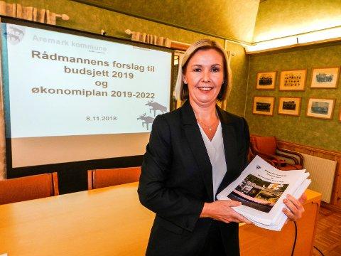 SLUTTER: Rådmann Alice Reigstad i Aremark kommune. Arkiv.
