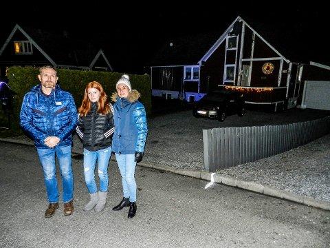 I 2018 besøkte vi Erik, Benedikte og Anett Warberg på Valhall. Her var det både julelys og musikk i gatene.