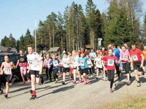 TRIMLØP: Torsdag starter Ertetrimmen, og mandag er det også første start for Nordeajoggen (på Venås).