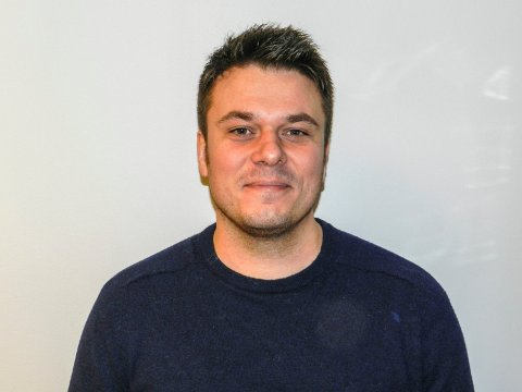 Helge Bergseth Bangsmoen, varaordførerkandidat for Halden Arbeiderparti.
