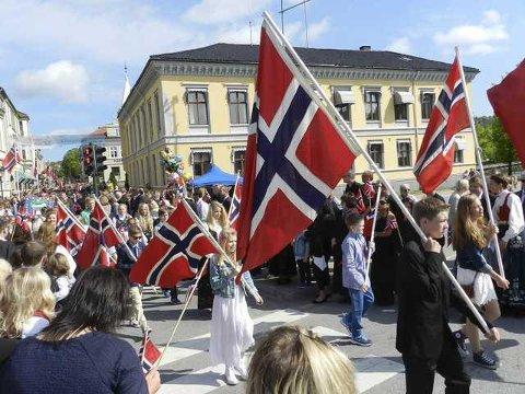 Det er store muligheter for at Halden og Aremark vil få sol og sommerlige temperaturer på 17. mai.