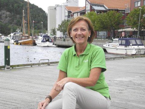 GLEDER SEG: Turistsjef Liv Lindskog. Arkiv.