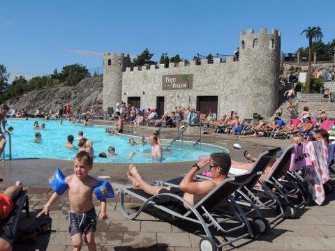 DAFTØ RESORT: Det har vært innbrudd på det populære feriestedet for mange nordmenn.