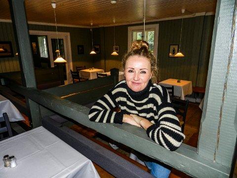 KORONASTØTTE: Ann-Cathrin Vanay har gjennom Selskapsservice Halden AS mottatt koronastøtte fra staten. Hun driver Herregårdskafeen og Haldens Klub Selskapslokaler.