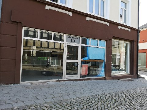 TOMT: Ingen virksomheter vil leie lokalet i Storgata 13 i gågata.