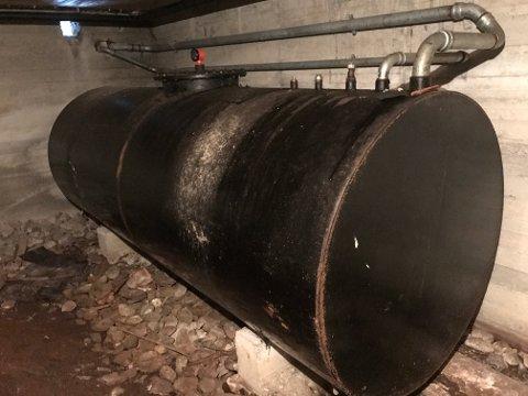 FORBUDT: Fra og med 1. januar 2020 blir det forbud mot å varme opp boliger og andre bygninger med mineralolje.