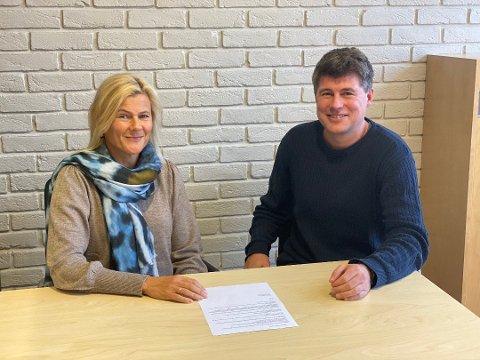 Gina Finsrud og Jens Petter Berget  fortalte i oktober at konserten hadde gått med underskudd. Nå er regnskapet klart.
