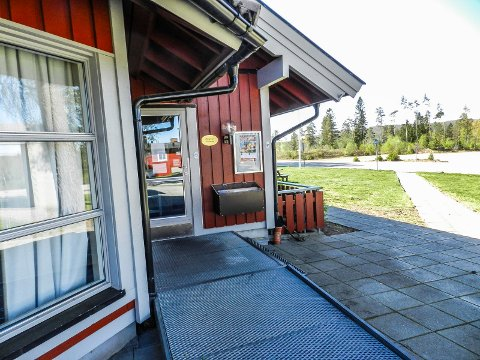 STENGT:Kafeen på Furulund er fortsatt stengt.