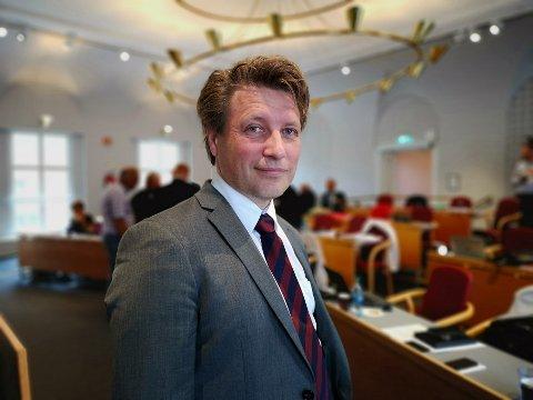 TRER UT AV POLITIKKEN: Etter sakene om transportordning og Os skole, gleder Ole Richard Holm-Olsen (H) seg til å tre ut av politikken en stund. Men avgjørelsen ble tatt allerede i fjor.