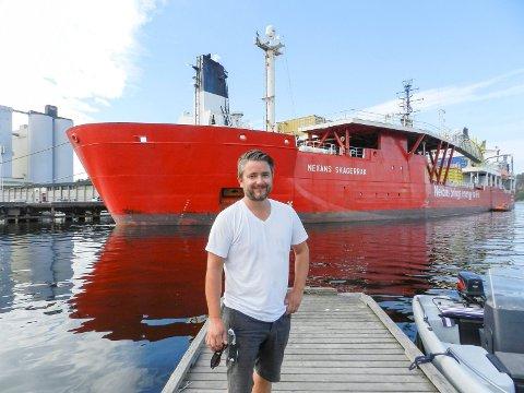 SVARER PÅ KRITIKKEN: Havnesjef Jon-Marcus Bruun forteller at de har kontroll på mye, men forstår at det for utenforstående er vanskelig å se.
