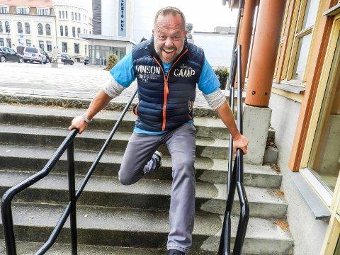 """UTE: Asgeir Borgemoen, som bor i Halden, måtte forlate """"farmen kjendis"""" etter tre dager"""