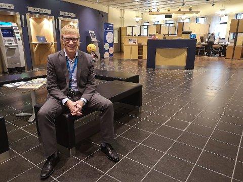 OPTIMIST: Banksjef i Sparebank 1 Østfold Akershus, Tom Willy Prangerød.
