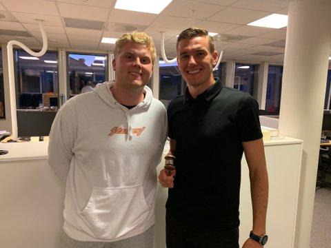 Deni Hasanagic er gjest hos Daniel Austerheim i Sportsprat.