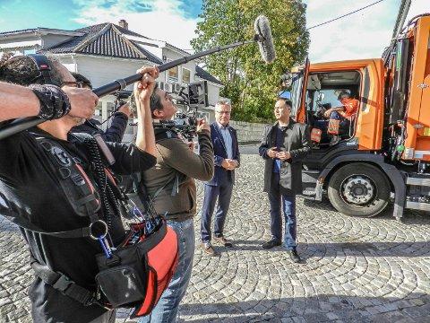 DOKUMENTAR: Et tv-team fra Chile lager en dokumentarserie. Halden er med i den.