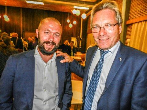 ENIGE: Arve Sigmundstad (tv) og Thor Edquist.