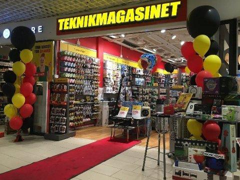 KONKURS: Den svenske kjeden Teknikmagasinet er begjært konkurs. Foreløpig er ikke norske butikker berørt av dette. Foto: (Avisa Nordland)