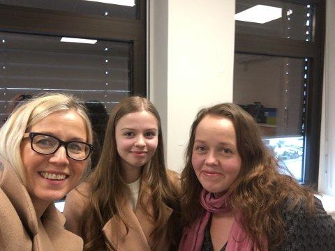Linn Laupsa, Sandra Lexander og Trine Høistad pratet om samferdsel, heltidsstillinger, forbilder, Haldenskolen og flere politiske utfordringer i fredagens podkast.