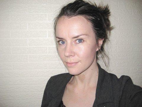 Ingela Nøding. Gjesteskribent i Halden Arbeiderblad.