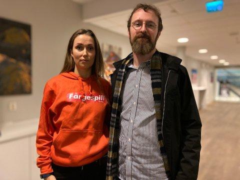 SKUFFET: Ove og Dina Billington er skuffet over kommunedirektørens budsjettforslag for 2021.