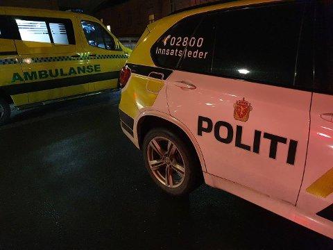 Politi og ambulanse rykket fredag kveld ut til husbråk i Halden sentrum.