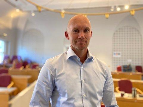 FORBEREDER: Kommunalsjef Ulf Ellingsen sier de har satt i gang et arbeid med bakgrunn i kvikklereskredet i Gjerdrum. Arkiv.