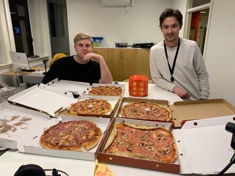 Pizza i fokus i den nye episoden av Sportsprat.
