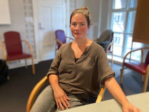 Rødts representant, Sara Kristina Langbråten, vil at alle skal ha mulighet til å uttale seg om Tyska-planene.