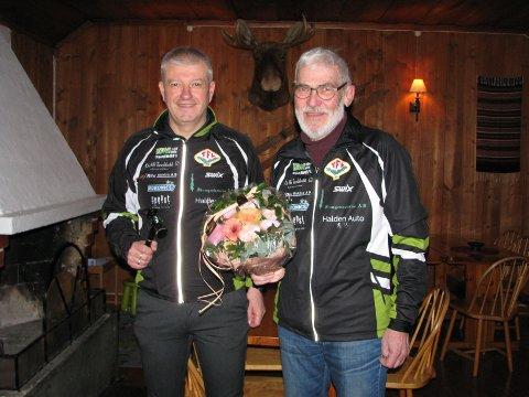 """TFLs leder Trond Sydskogen og """"Gullmerkemannen"""" Jan Erik Bjerkeli."""