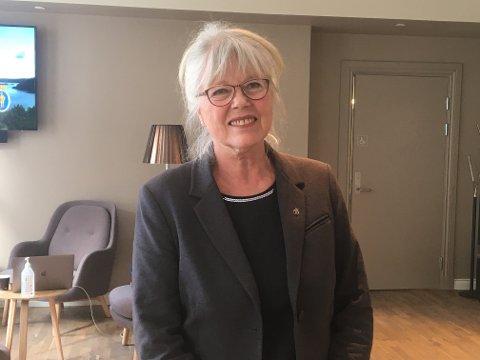 Ordfører Anne Kari Holm er glad for at Halden kommune sikrer videre samarbeid med Allsang på Grensen.