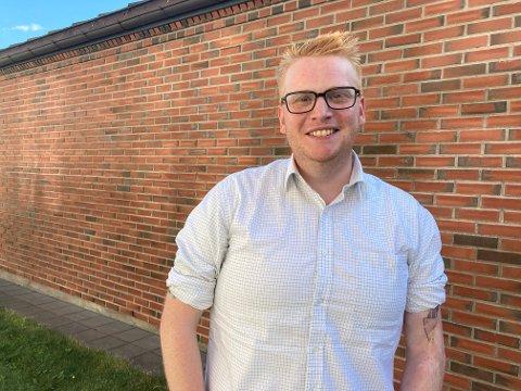 VIL TIL OSLO: Fredrik Holm håper på en plass på Stortinget etter valget i 2021.