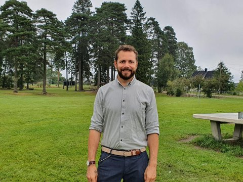 – Gleder meg: Anders Omberg starter som rektor på Ambjørnrød skole 1. oktober.