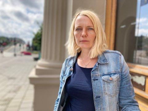 """RYSTET: Solveig Østby Vitanza mener Halden kommune må følge opp systemsvikten som tidligere er omtalt i """"Marie""""-saken."""