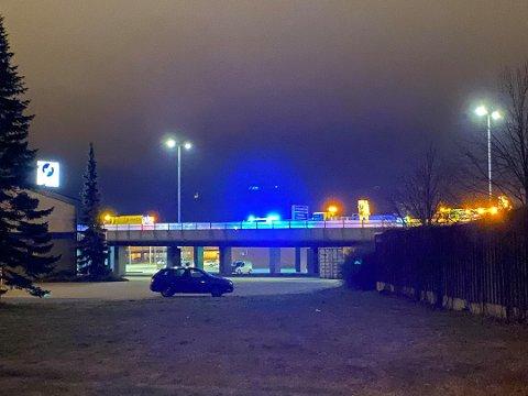 UHELL: Det har vært et trafikkuhell på E6 ved Sandesundsbrua i Sarpsborg tirsdag kveld.