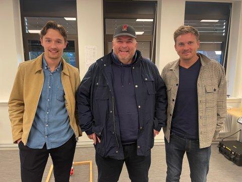 Fredrik Wille er gjest hos Kjetil og Ole Jakob i Sportsprat.