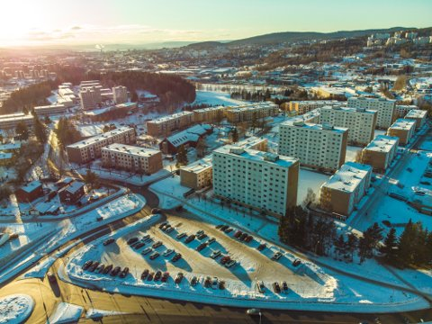 SMITTETRYKK: I Stovner i Oslo har 5 prosent av befolkningen fått påvist koronasmitte.
